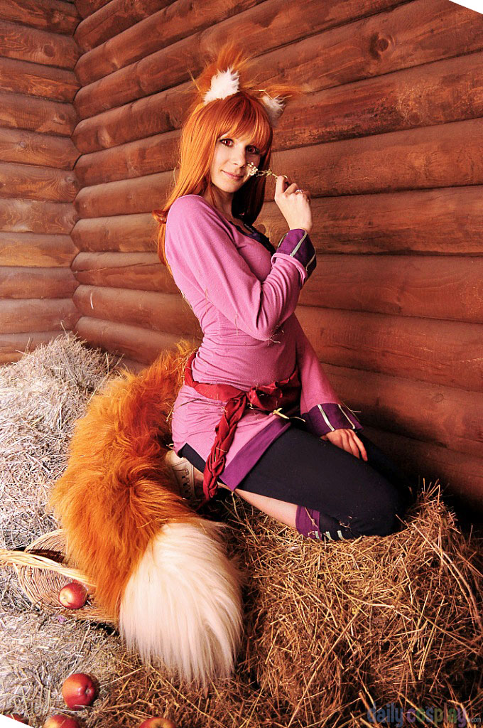 Spice and wolf lawrence cosplay