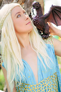 Khaleesi Daenerys Targaryen from Game of Thrones