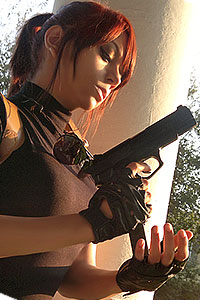 Claire Redfield from Resident Evil: The Darkside Chronicles