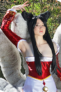 Ahri the Nine-Tailed Fox from League of Legends