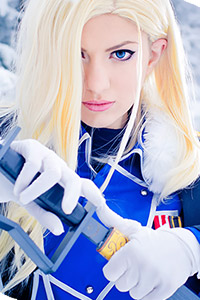 Olivier Mira Armstrong from Full Metal Alchemist: Brotherhood