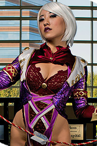 Ivy Valentine from Soulcalibur