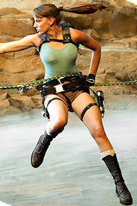 Lara Croft from Tomb Raider Underworld
