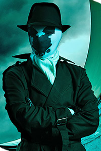 Rorschach from Watchmen