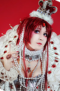 Esther Blanchett Queen of Albion from Trinity Blood
