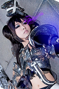 Insane Black Rock Shooter from Black Rock Shooter