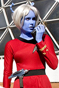 Andorian Starfleet Uniform from Star Trek: TOS