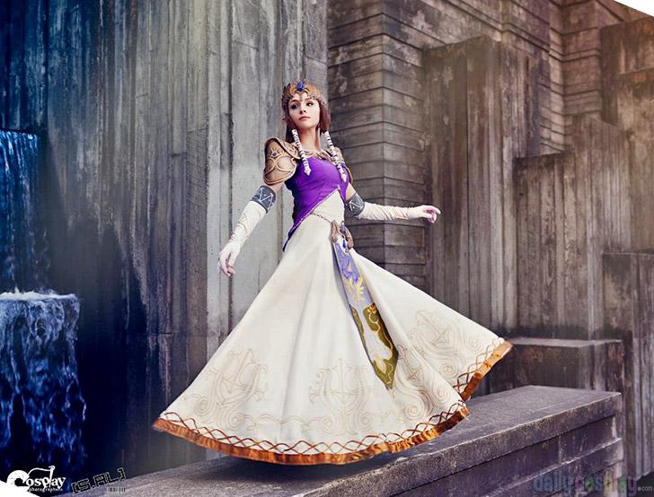 Resultado de imagem para cosplay princess zelda