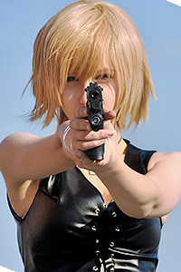 Aya Brea from The 3rd Birthday / Parasite Eve