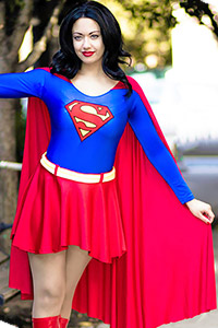 Supergirl (Brunette Variant) from DC Comics