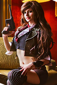 Booker Dewitt A.K.A. Brookes Dewitt genderbend pin-up from Bioshock Infinite