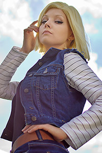 Android 18 from Dragon Ball Z