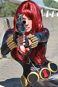 Natasha Romanoff / The Black Widow from Marvel Comics