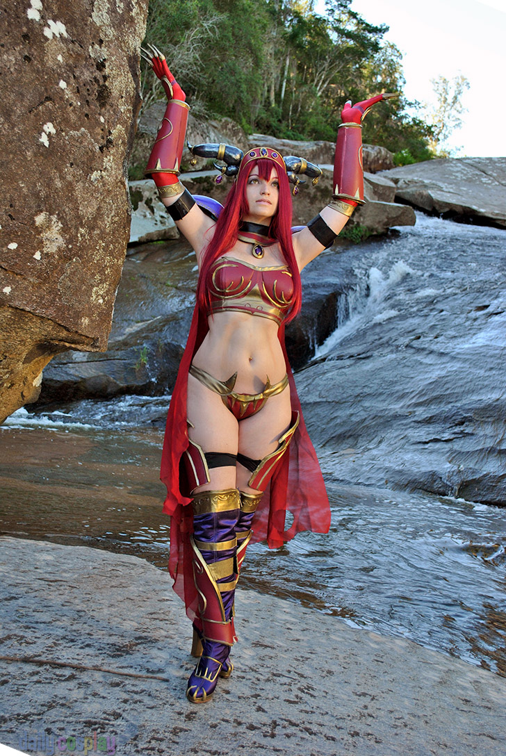 Alexstrasza cosplay porn adult video