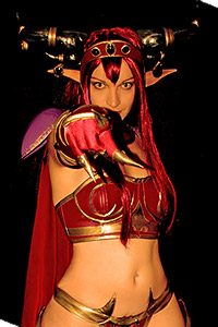 Queen Alexstrasza from World of Warcraft