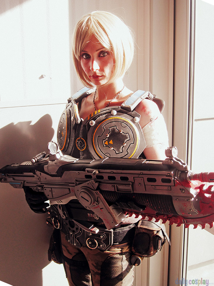 Anya Stroud From Gears Of War Daily Cosplay Com