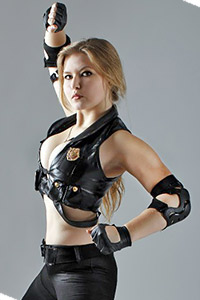 Sonya Blade from Mortal Kombat 9