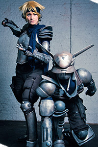 Deunan & Briarios from Appleseed