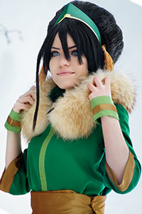 Toph Beifong from Avatar: The Last Airbender