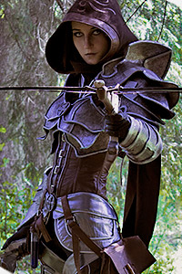 Demon Hunter from Diablo 3