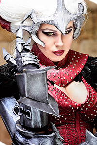 Flemeth from Dragon Age II
