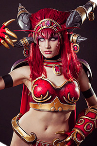 Alexstrasza, Queen of the Dragons from World of Warcraft