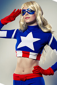 Femme Captain America / American Dream from Marvel Comics