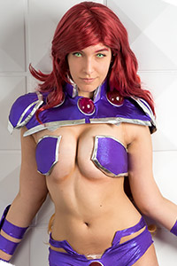 New 52 Starfire from Red Hood and the Outlaws