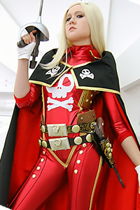 Queen Emeraldas from Captain Harlock, Galaxy Express 999