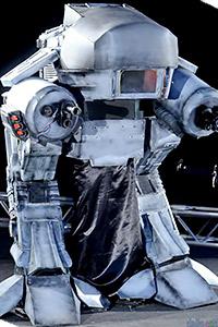 ED-209 & Robocop from Robocop