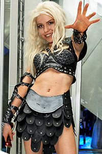 Callisto from Xena: Warrior Princess