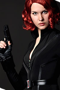 Black Widow Natasha Romanoff from The Avengers