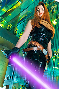 Mara Jade Skywalker from Star Wars Expanded Universe