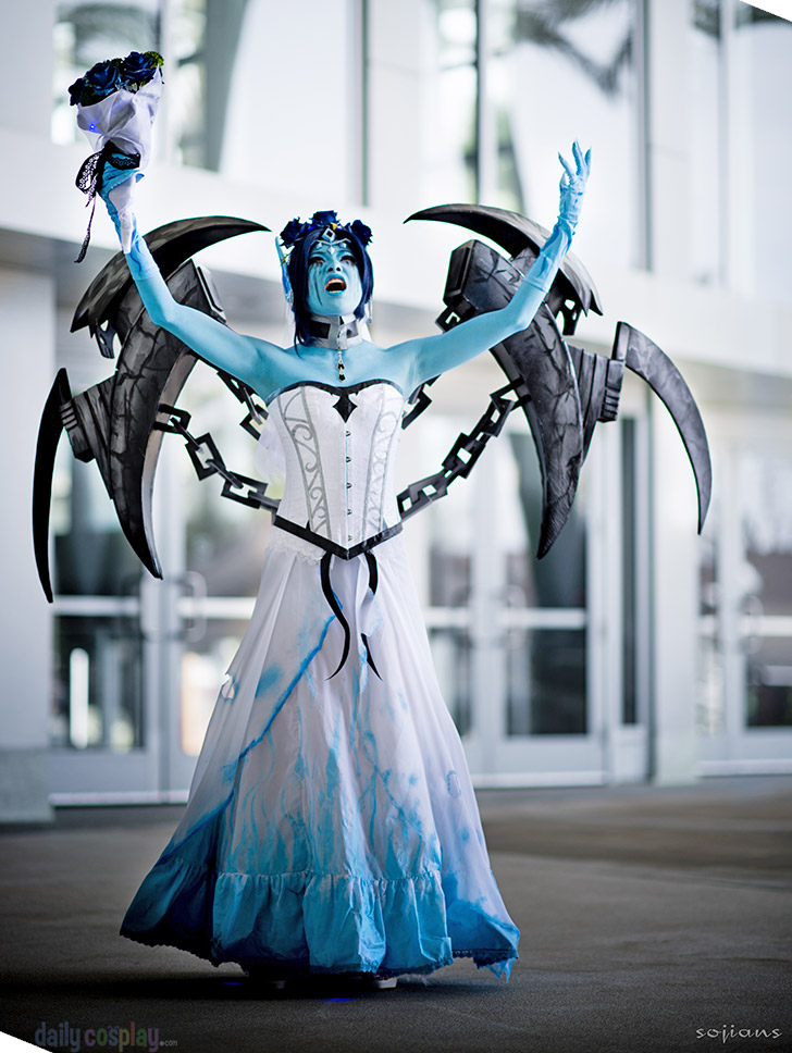 Ghost Bride Morgana from League of Legends - Daily Cosplay ...