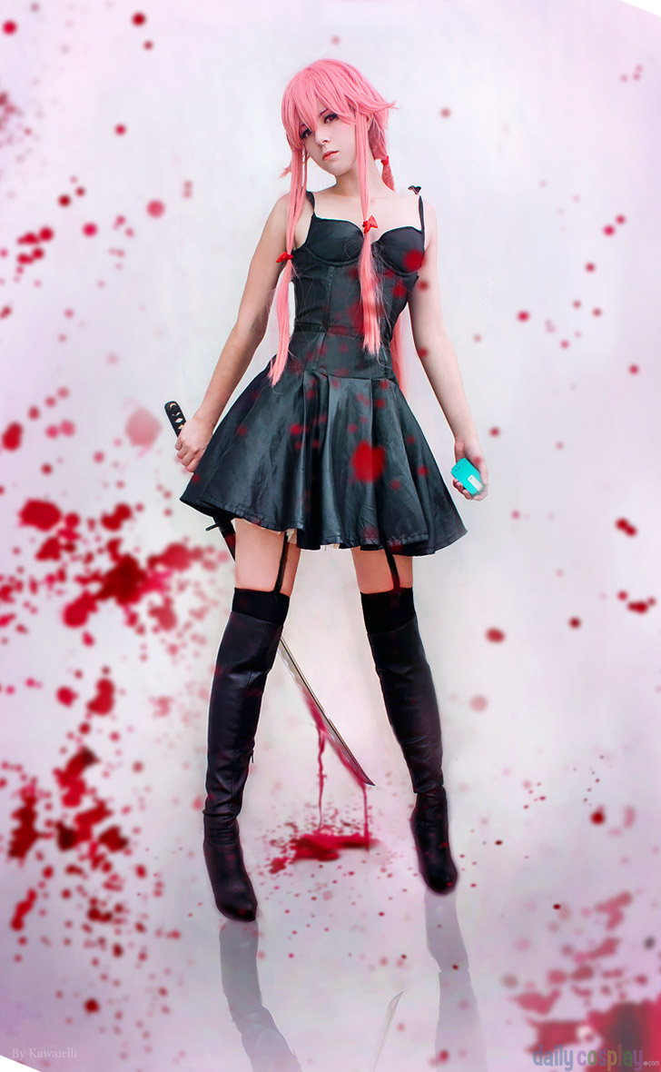 Yuno Gasai From Future Diary Mirai Nikki Daily Cosplay