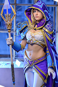 Jaina Proudmoore from Warcraft III