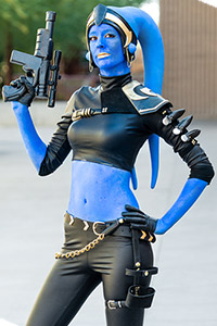 Rio Ca'tal, Twi'lek Bounty Hunter from Star Wars: The Old Republic