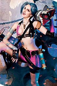 Jinx from League of Legends