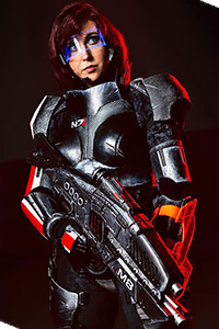 Jane Shepard from Mass Effect