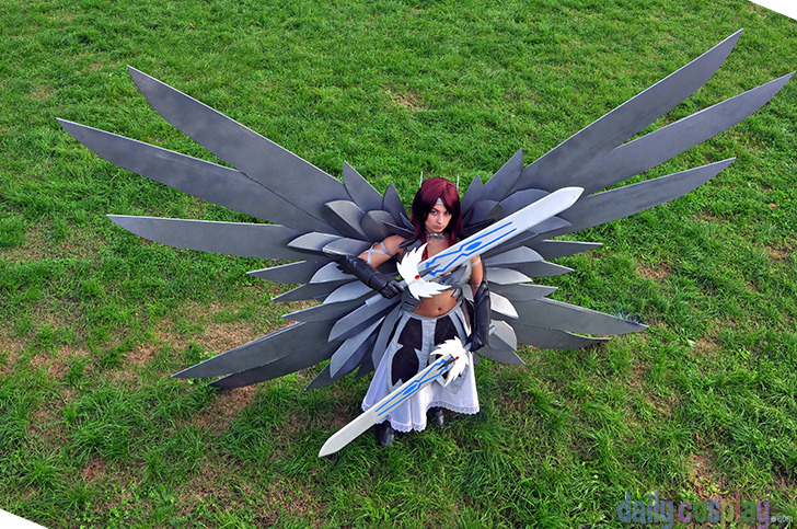 Erza Scarlet Heaven S Wheel Armor From Fairy Tail Daily Cosplay Com