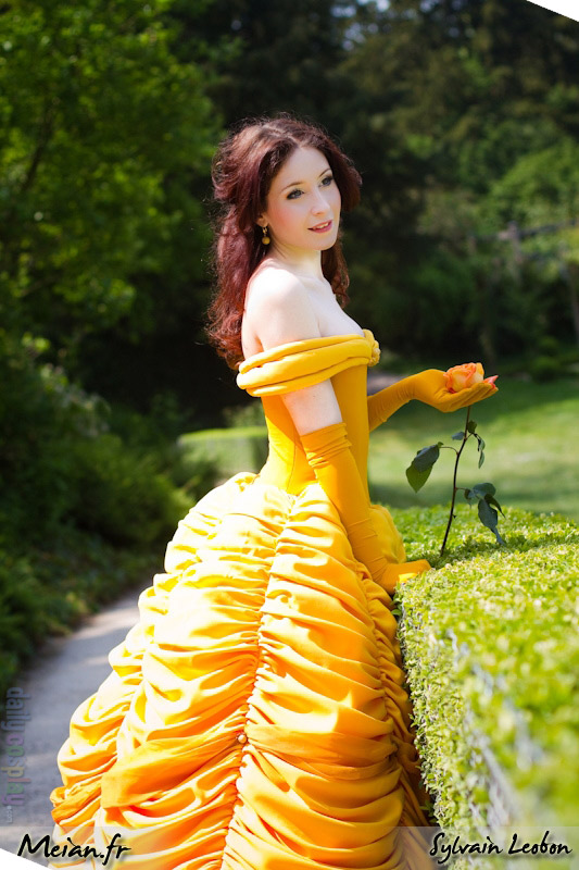 belle from beauty and the beast daily cosplay com. Black Bedroom Furniture Sets. Home Design Ideas