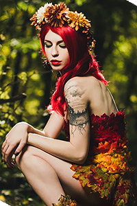 Poison Ivy (Autumn Version) from DC Comics