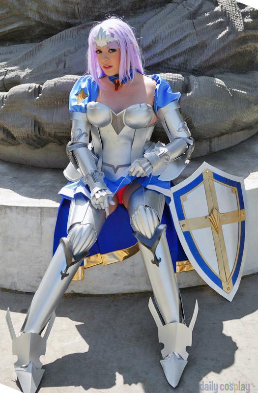 Annelotte Kreutz from Queen's Blade: Rebellion - Daily ... Queens Blade Echidna Cosplay