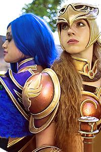 Valkyrie Leona & Dark Valkyrie Diana from League of Legends
