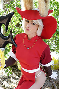 Red Mage Viera from Final Fantasy Tactics Advance