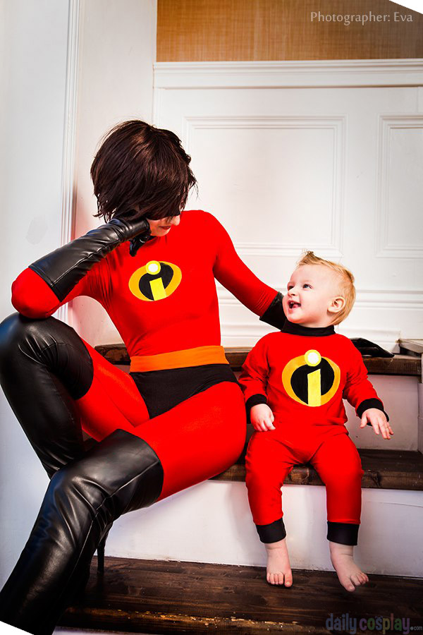 Elastigirl Amp Jack Jack From The Incredibles Daily