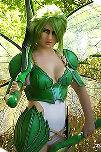Scyther Gijinka from Pokemon