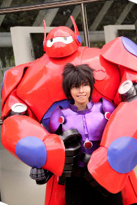 Hiro Hamada & Baymax from Big Hero 6