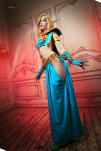 Blood Elf Mage from World of Warcraft