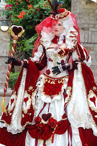 Queen of Hearts from Sakizou's Alice in Wonderland